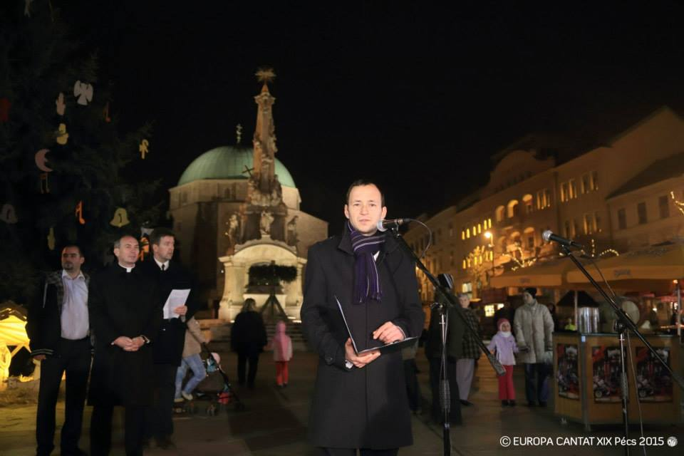 Pécs Europa Cantat - Adventi vásár megnyitója