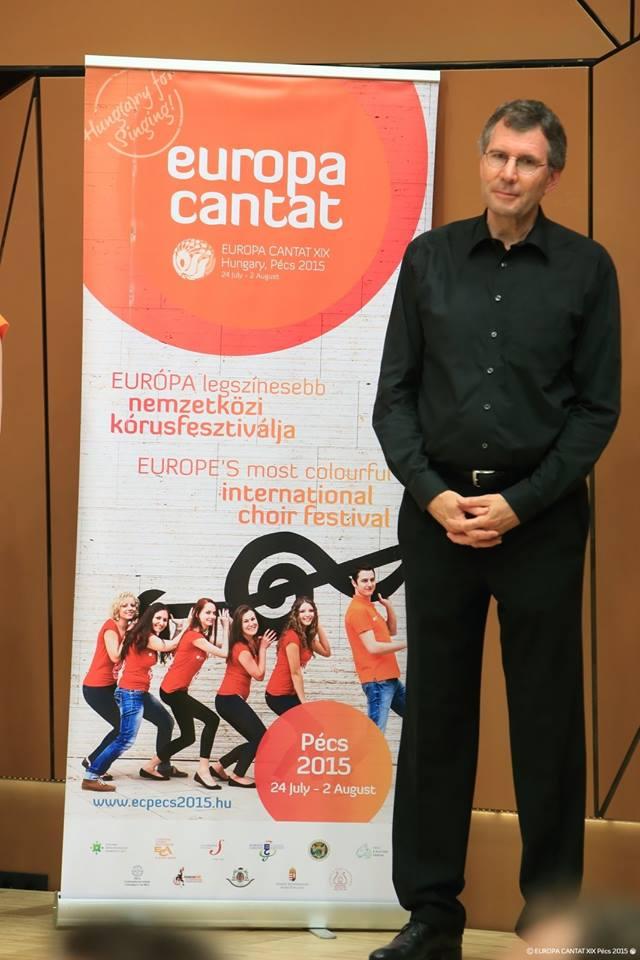 Pécs Europa Cantat - Közös éneklés, mesterkurzus zárókoncertje