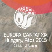 Pécs Europa Cantat - Profilképek, logók