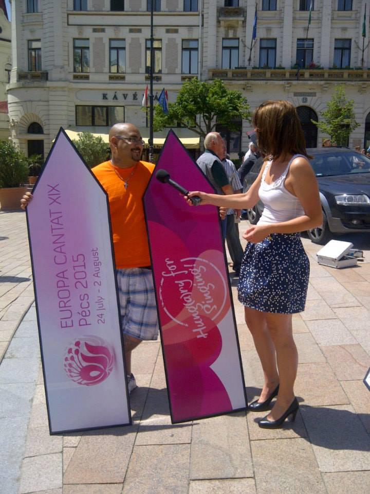 Pécs Europa Cantat - Promo filmfelvétel