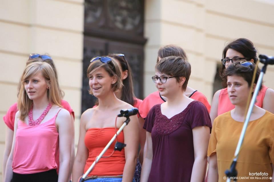 Pécs Europa Cantat - Soharóza és Bélaműhely karmesterjáték
