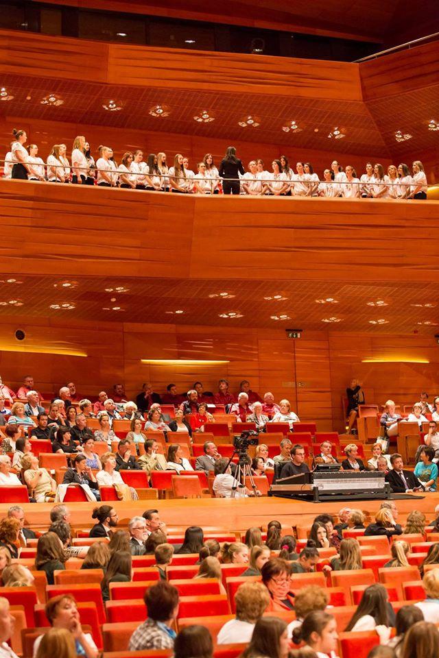 Pécs Europa Cantat - Közös éneklés öröme, szoboravatás és gálakoncert