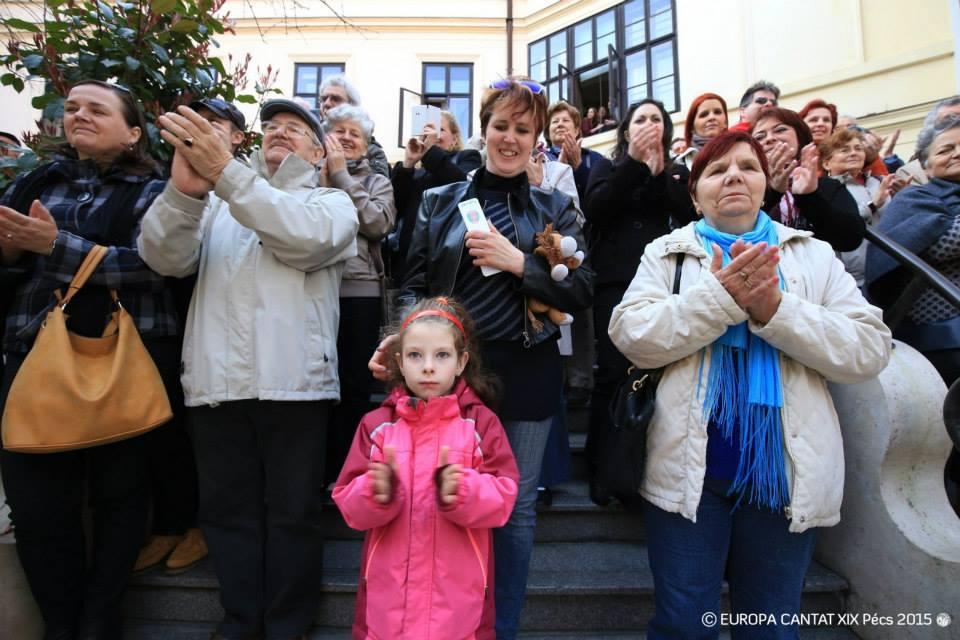 Pécs Europa Cantat - Tavaszköszöntő koncertek a Hild-udvarban
