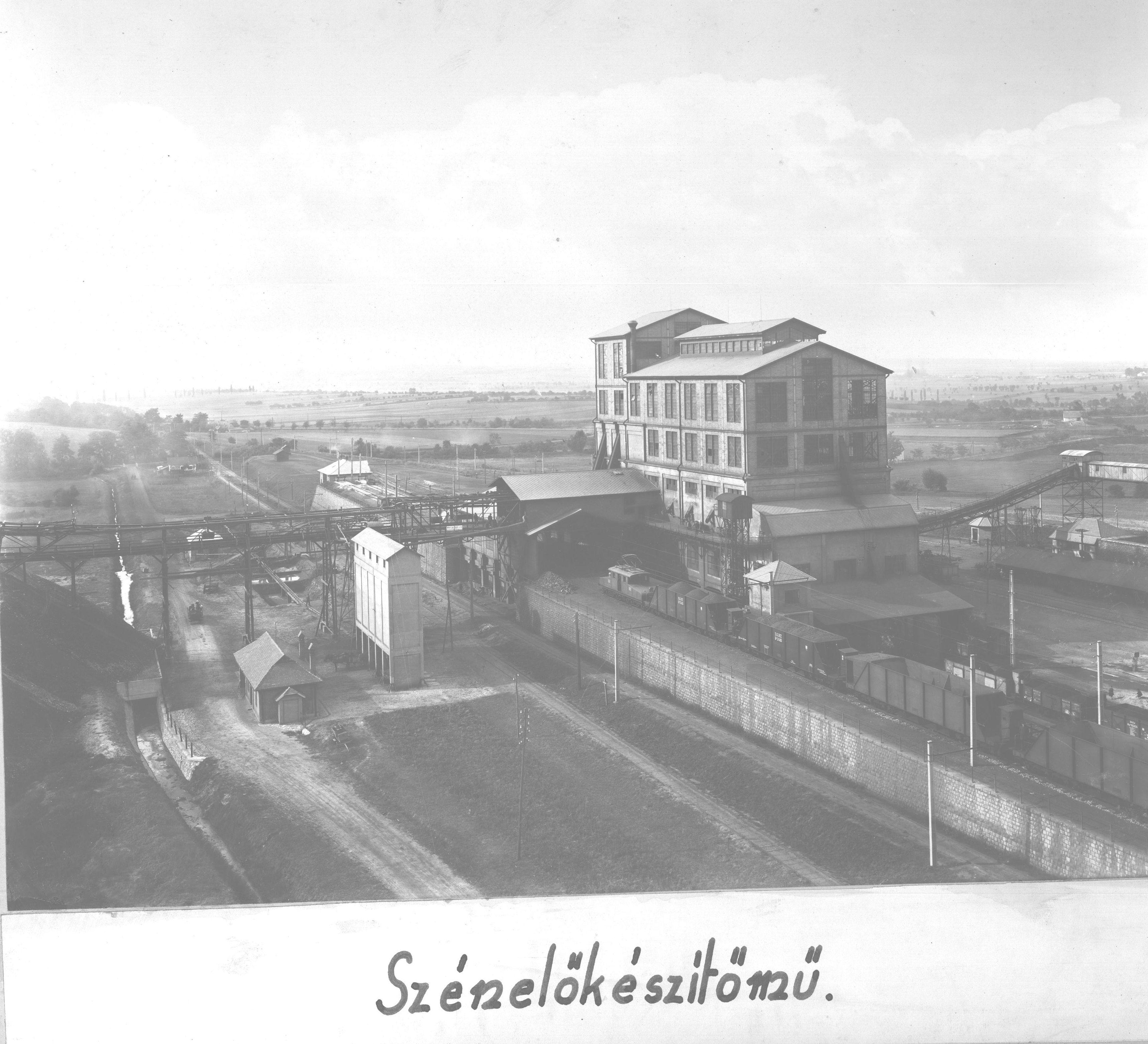 Pécsújhegy Szénelőkészítőmű, brikettgyár és központi műhely