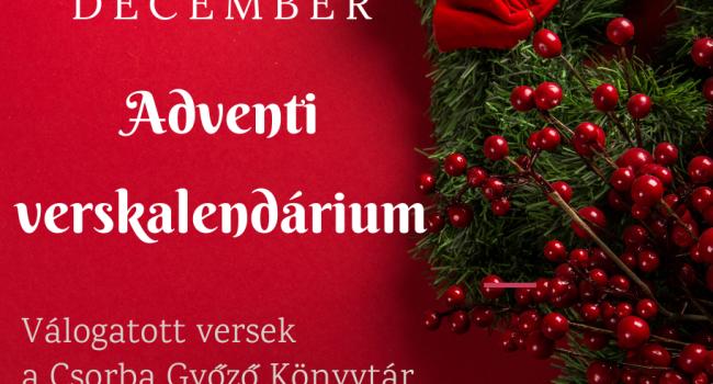 Adventi verskalendárium