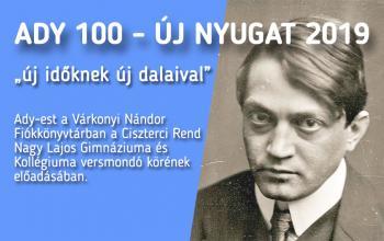 Ady-est a Várkonyi Nándor Fiókkönyvtárban